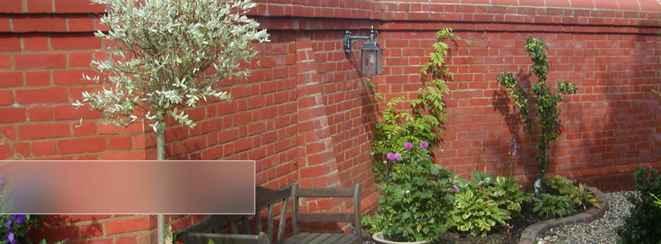 Garden Walls and Boundary Walls, build and repair